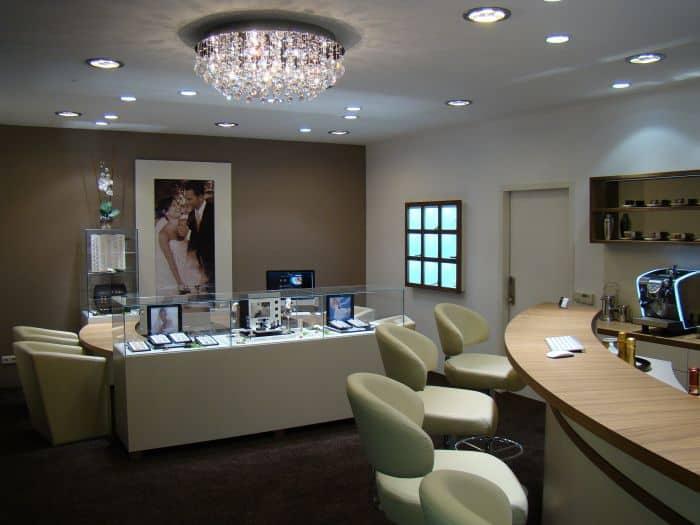 Juwelier Deckenbeleuchtung