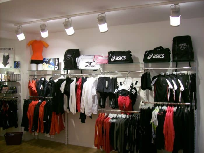 Modegeschäft Shopbeleuchtung