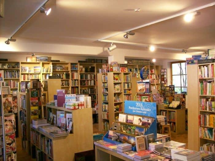 Buchhandlung Verkaufsraum