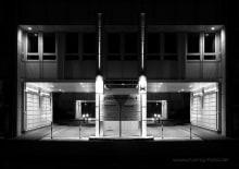Bürokomplex Aussenbeleuchtung
