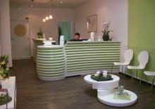 Empfang Massagepraxis
